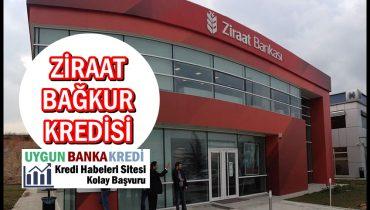 Ziraat Bankası Bağkur Kredisi 2020