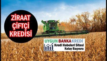Ziraat Bankası Çiftçi Kredisi (Faizsiz, Hibe)